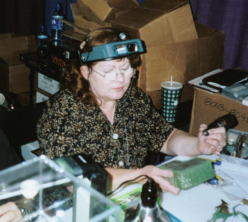 Sandy Garrity GenCon2001